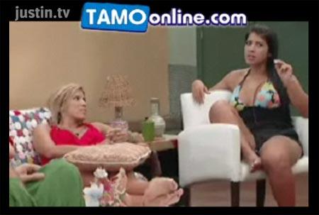 Imagem da transmissão online do pay-per-view de graça na internet do BBB9!