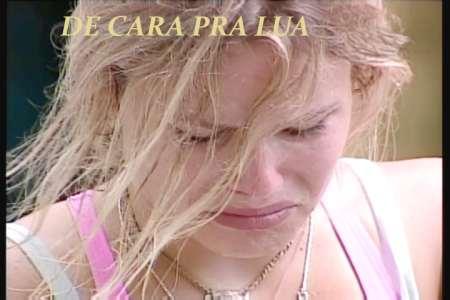 Natalia chorando na prova do lider do BBB8